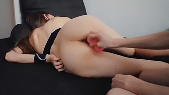 Fucking His Wife With Fingers, Dildo And Cock
