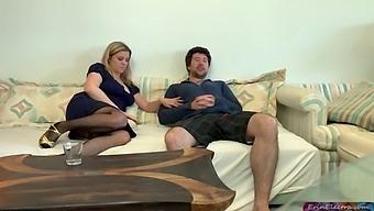 Stepson Impregnates Stepmom - Erin Electra