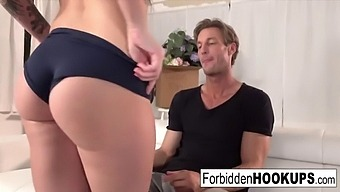 Hot Twins Fuck Their Step-Brother!