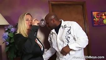 Milf Devon Lee With Big Tits Sucking And Fucking Big Black Cock